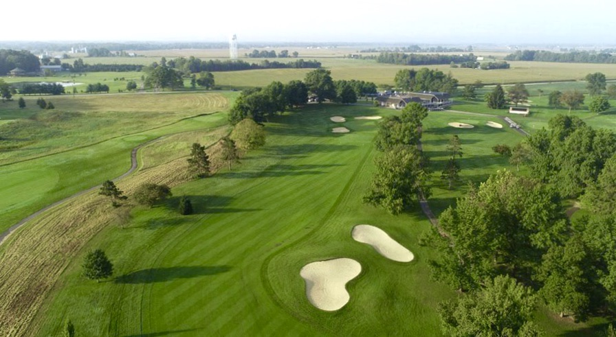 Aerial pic Otter Creek Golf Course